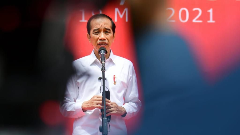 Jokowi: Angka COVID di Jawa-Bali Sedikit Turun, BOR Wisma Atlet 25%