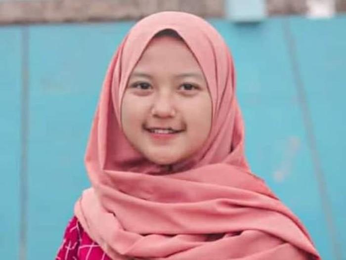 Remaja asal Wonogiri, Meyda Tiara Kusuma Wardani yang hilang tiga hari, Rabu (19/5/2021).