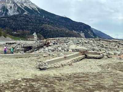 Desa yang Hilang di Italia Tahun 1950 Muncul Kembali ke Permukaan