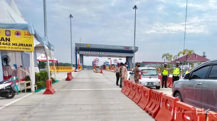 Trafik kendaraan tertinggi dari arah Pulau Jawa menuju Pulau Sumatra terjadi pada Jum'at (7/5) dengan VLL mencapai 3.063 kendaraan. Sementara untuk trafik arus balik terjadi pada Senin (17/05).