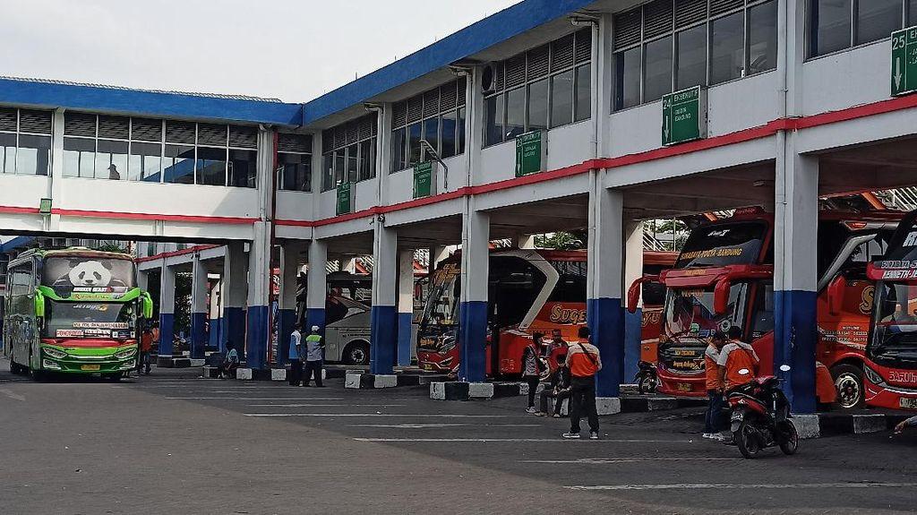 Terminal Purabaya Bungurasih Mulai Berdenyut Usai Larangan Mudik