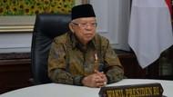 Ada Lonjakan Covid-19, Maruf Amin Khawatir Indonesia Seperti India