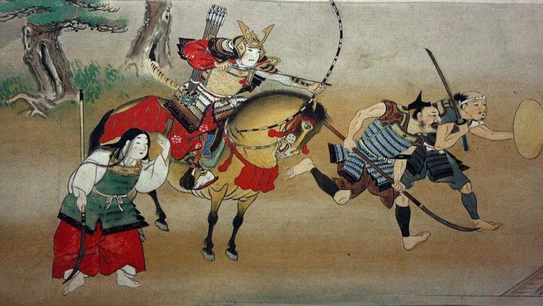 Ilustrasi Samurai