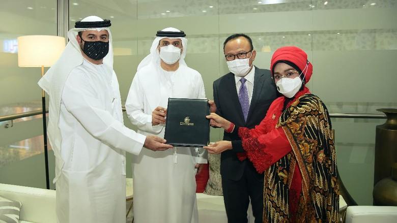 MoC Emirates-Kemenparekraf
