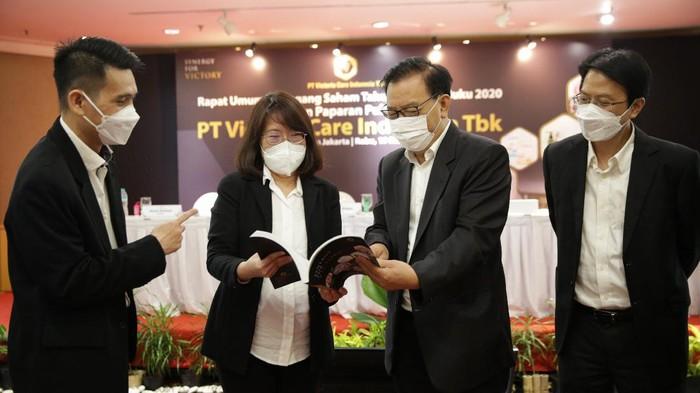 PT Victoria Care Indonesia Tbk. (VICI) pada 2020 membukukan penjualan menembus Rp1 triliun, atau tumbuh sebesar 31 persen.
