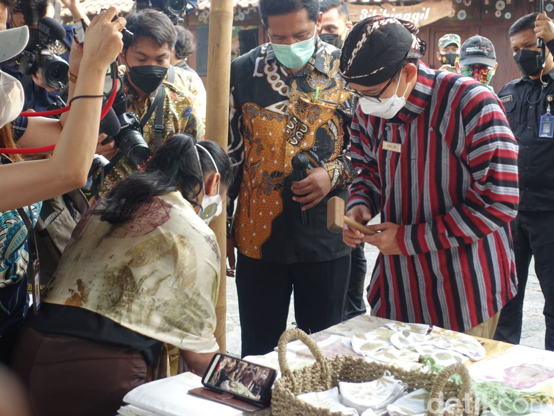 Sandiaga Uno di Yogyakarta