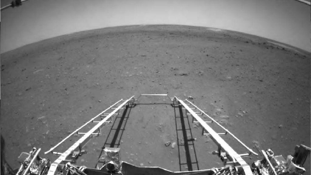 Potret Planet Mars dari Robot Penjelajah China
