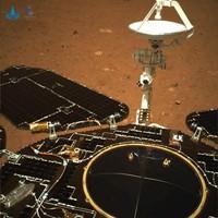Foto pertama rover Zhurong dari Mars