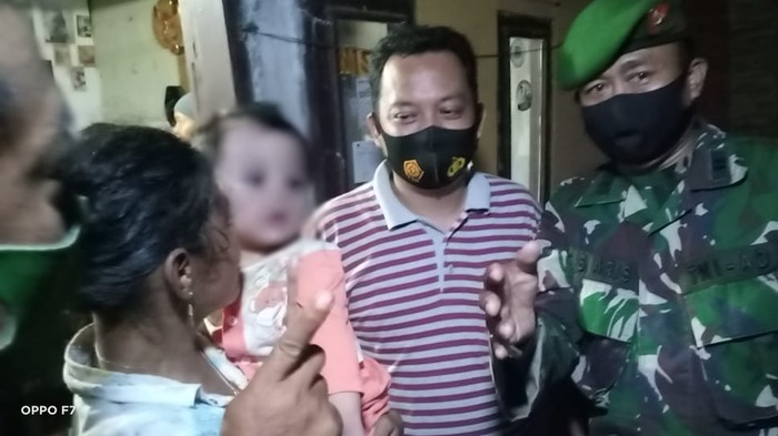 Anak prajurit Kodam Jaya yang diculik ART ditemukan