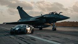 Adu Cepat Bugatti Chiron Vs Jet Tempur Incaran Prabowo