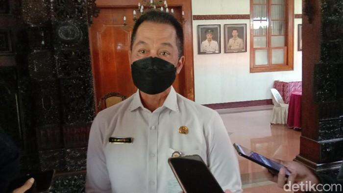 Bupati Kudus HM Hartopo ditemui di Pendapa Kabupaten Kudus, Jumat (21/5/2021).