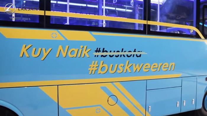 Bus medium terbaru Laksana Nucleus 5