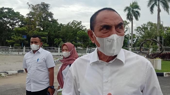 Gubernur Sumatera Utara Edy Rahmayadi (Ahmad Arfah-detikcom)