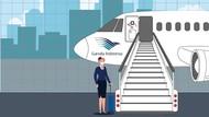 Garuda Indonesia & Sriwijaya Air Diminta Tidak PHK Karyawan
