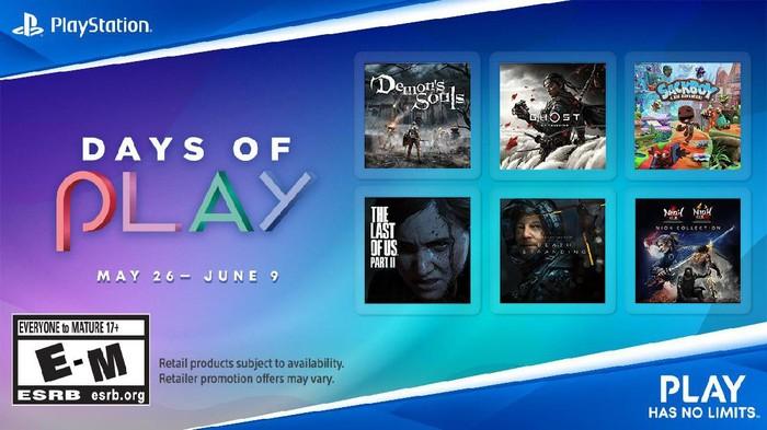 Promo Game PS4 dan PS5 di Event Days of Play dari Sony