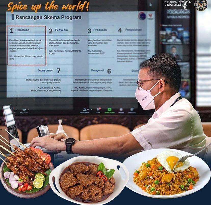 Sandiaga Uno Tekankan Industri Kuliner Harus Lakukan Digitalisasi