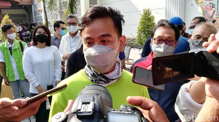 Wali Kota Solo Gibran Rakabuming Raka, Jumat (21/5/2021).