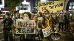 Warga Jepang Gaungkan Penolakan Olimpiade Tokyo