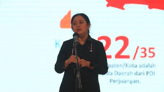 Ketua DPR RI Puan Maharani saat di Semarang, Sabtu (22/5/2021). Foto diberi teman.