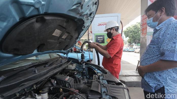Pemerintah berencana terus menggalakkan kembali bahan bakar gas (BBG).