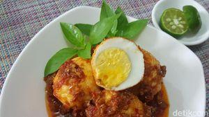 Resep Telur Balado Padang yang Sedap dan Gampang Dibuat