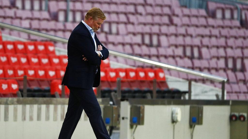 Barcelona Mulai Cari Pengganti Ronald Koeman