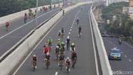 Pesepeda Road Bike Meninggal di JLNT Punya Riwayat Sakit Jantung