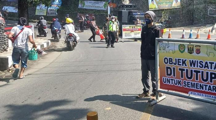Akses menuju tempat wisata Sukabumi