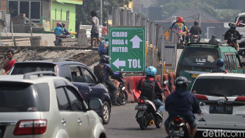 Begini Rekayasa Lalu Lintas di Simpang Cileunyi Bandung