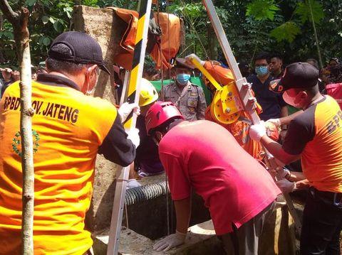 Hilang 2 hari, pria ini ditemukan tewas di dalam sumur, Banjarnegara, Minggu (23/5/2021).