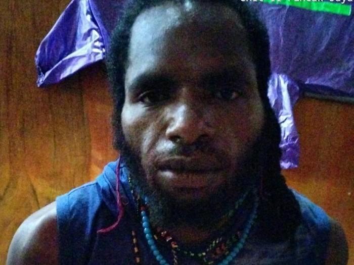 LW, anggota KKB Papua yang ditangkap Satgas Nemangkawi