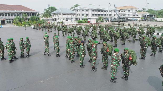 400 'Pasukan Setan' TNI dikirim ke Papua