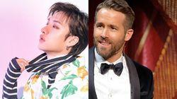 Gemasnya Interaksi Ryan Reynolds dan Bang Chan Stray Kids
