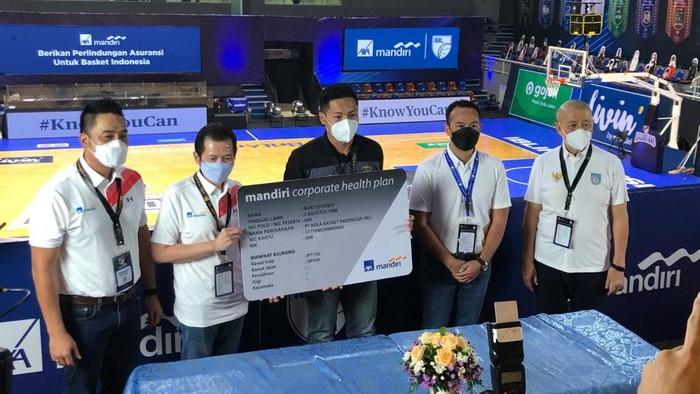 Indonesian Basketball League (IBL) menandatangani nota kesepahaman dengan perusahaan asuransi PT AXA Mandiri Financial Services (AXA Mandiri).