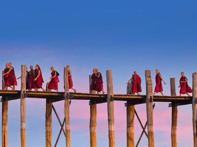 U Bein, Jembatan Kayu Jati Tertua dan Terpanjang Dunia