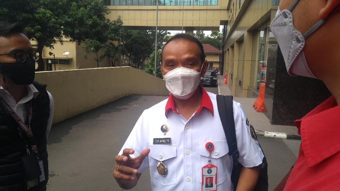 Kepala Pusat Operasi Keamanan Siber Nasional BSSN Brigjen TNI Ferdinand Mahulette (Adhyasta-detikcom)