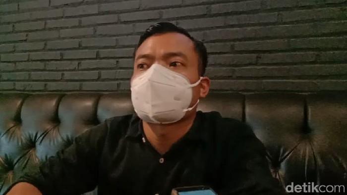 Kuasa hukum tuan rumah hajatan yang dihadiri Dewi Perssik di Kudus, Slamet Riyadi, Senin (24/5/2021).