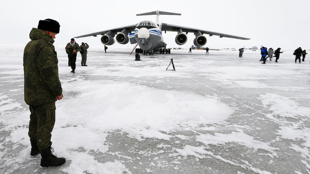 Menengok Pangkalan Militer Rusia di Kutub Utara