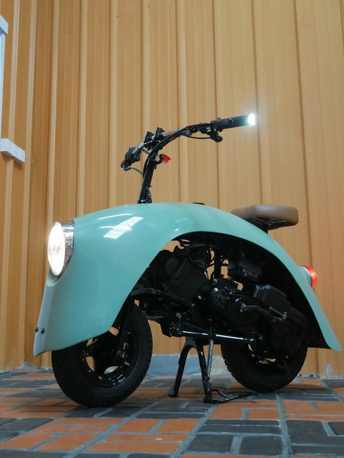 Motor Rp 5 Jutaan Dimodif Jadi Bumper VW Kodok