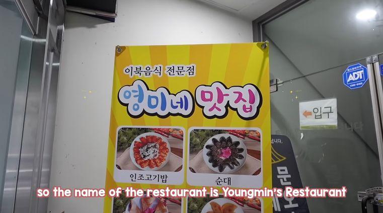 mukbang di restoran korea utara