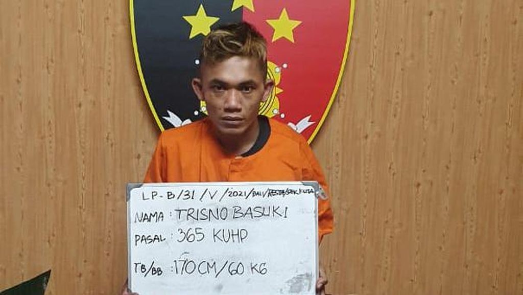WNA Jerman Jadi Korban Jambret di Bali, Uang Puluhan Juta Raib