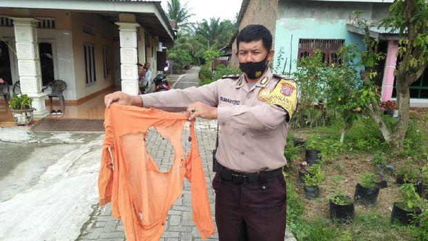 Polisi usut sosok kolor ijo bikin geger warga Langkat, Sumut (dok Istimewa)