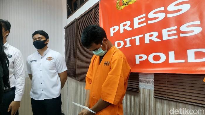 Pria di Bali diciduk usai diduga menghina agama Hindu (Sui/detikcom).