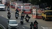 Daftar 10 Titik Pembatasan Mobilitas di Jakarta Mulai Malam Nanti