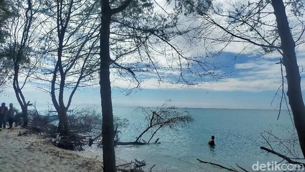Pulau Lanjukang memiliki view menawan, ada beberapa pohon beringin dan kelapa tumbuh subur di tempat ini. Untuk harga sewa kapal kayu dengan mesin tempel dan 2 deck sekitar Rp 1 juta hingga Rp 2 juta dengan kapasitas penumpang mencapai 20 orang.