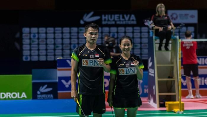 Rinov Rivaldy/Phita Haningtyas Mentari juara di Spain Masters 2021.