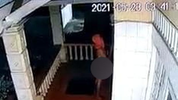 Screenshot video viral kolor ijo di Langkat, Sumut