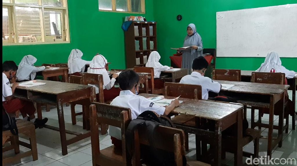 SD di Subang Gelar Ujian Tatap Muka dengan Prokes Ketat