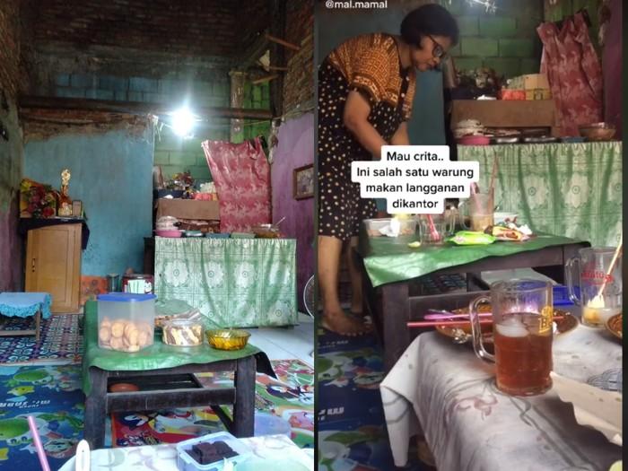 Kisah Pemilik Warung Makan yang Tak Mau Ambil Untung Ini Tuai Pujian