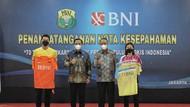 BNI Jadi Pendukung Resmi Bulu Tangkis Nasional